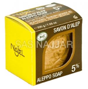 Aleppo Zeep Laurelolie (5%) Biologisch