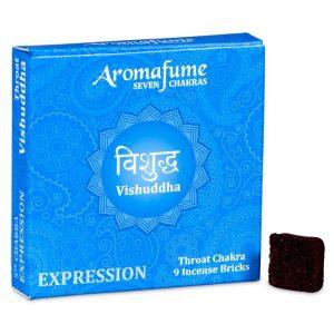 Aromafume Wierookblokjes Vishudda - Keel Chakra