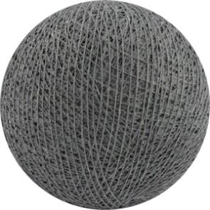 25 losse Cotton Ball's (Donkergrijs)