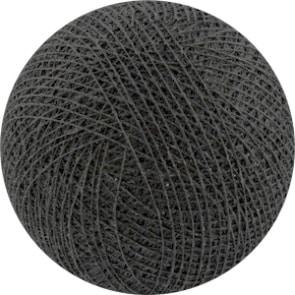 25 losse Cotton Ball's (Antraciet)
