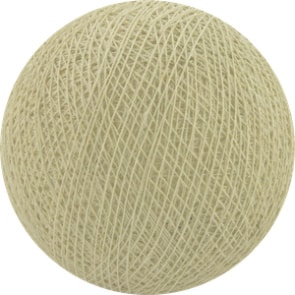 25 losse Cotton Ball's (Crème)