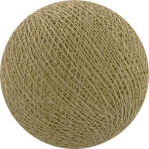 25 losse Cotton Ball's (Beige)