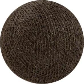 25 losse Cotton Ball's (Bruin)