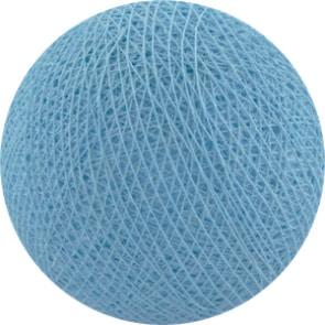 25 losse Cotton Ball's (Baby Blauw)