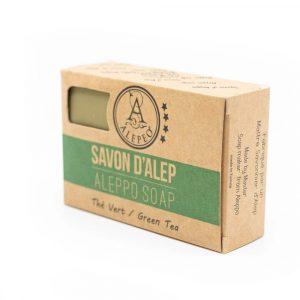 Aleppo Zeep Groene Thee - 8% Laurel Bay Oil - 100 gram