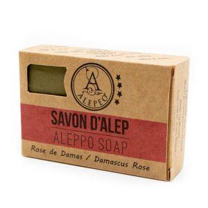 Aleppo Zeep Damascus Roos - 8% Laurierolie - 100 gram