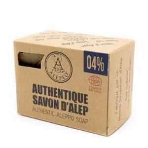 Aleppo Zeep Authentiek Ecocert - 4% Laurierolie - 200 gram