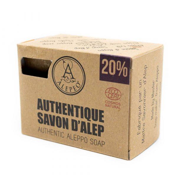Aleppo Zeep Authentiek Ecocert - 20% Laurierolie - 200 gram