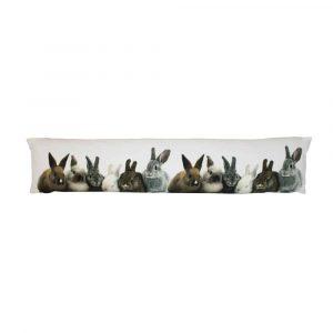 Tochtkussen Canvas Konijntjes (90 x 20 cm)