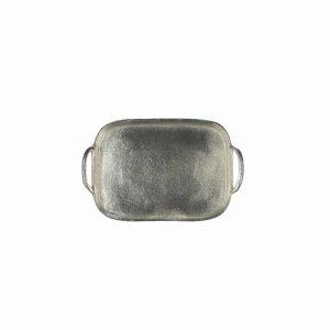 Ovaal Silverlook Dienblad (31 x 20 cm)
