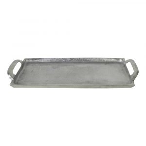 Aluminium Dienblad (43 x 13 cm)