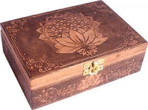 Koper Plated B0x - Flower of Life Lotus