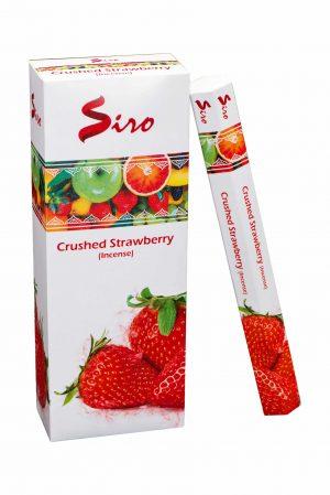 Siro Wierook Crushed Strawberry (6 pakjes)