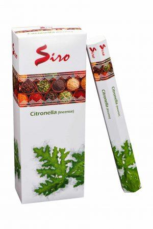 Siro Wierook Citronella (6 pakjes)