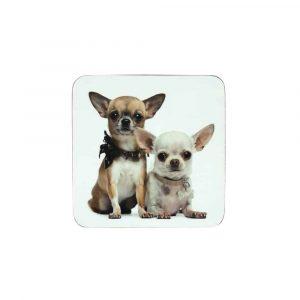 Onderzetters Chihuahua's (Set van 6)