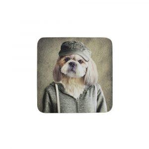 Onderzetters Mr. Hond (Set van 6)